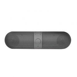 Φορητό Ασύρματο Ηχείο Bluetooth με FM Radio και USB Χρώματος Σκούρο Γκρι Aquarius R159413