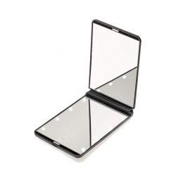 Φορητός Καθρέπτης Ταξιδίου με Οθόνη Αφής LED GloBrite Χρώματος Μαύρο LEDTravelMir-Black