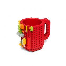 Κούπα από Lego Χρώματος Κόκκινο SPM BrickMug-Red