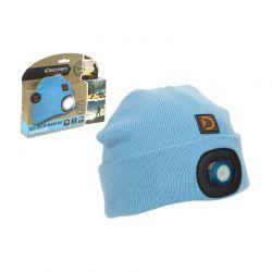 Παιδικός Σκούφος με Ενσωματωμένο Φακό LED Discovery Adventures Χρώματος Μπλε