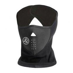 Αντιανεμική Μάσκα Προσώπου Neoprene Fleece με Ρυθμιζόμενη Εισροή Αέρα Χρώματος Γκρι Hoppline HOP1000662-1
