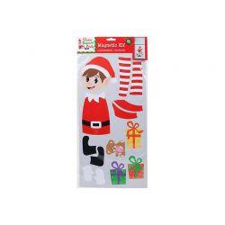 Σετ Χριστουγεννιάτικο Μαγνητικό Τύπωμα για το Ψυγείο 23 x 46 cm Elf PM500030