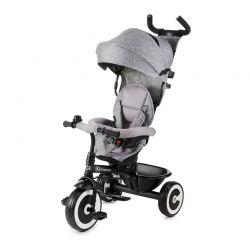 Τρίκυκλο Παιδικό Ποδήλατο - Καρότσι KinderKraft Aston Χρώματος Γκρι