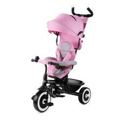 Τρίκυκλο Παιδικό Ποδήλατο - Καρότσι KinderKraft Aston Χρώματος Ροζ