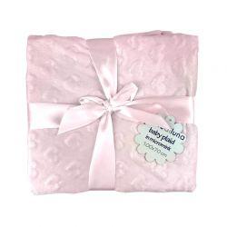 Βρεφική Κουβέρτα 100 x 70 cm Χρώματος Ροζ MWS15053