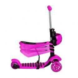 Αναδιπλούμενο Παιδικό Τρίτροχο Πατίνι Scooter 3 σε 1 με LED Φωτισμό 3479