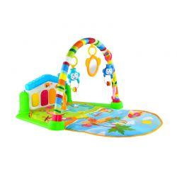 Γυμναστήριο Μωρού με Μουσικό Πιανάκι 80 x 60 x 45 cm Χρώματος Πράσινο 5638