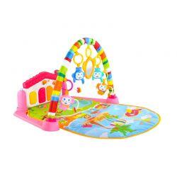 Γυμναστήριο Μωρού με Μουσικό Πιανάκι 80 x 60 x 45 cm Χρώματος Ροζ 5638