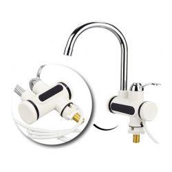 Ηλεκτρική Επικαθήμενη Βρύση - Ταχυθερμαντήρας με Οθόνη LED Hoppline HOP1000689
