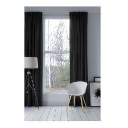 Κουρτίνα Blackout με Τρουκς 140 x 250 cm Χρώματος Ανθρακί SPM 911222
