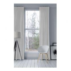 Κουρτίνα Blackout με Τρουκς 140 x 250 cm Χρώματος Λευκό