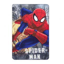 Παιδική Κουβέρτα Fleece Μονή 100 x 150 cm Χρώματος Κόκκινο Spiderman Disney HQ4337
