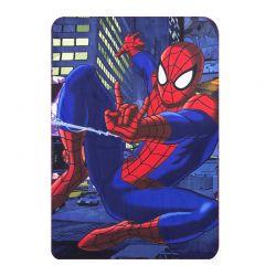 Παιδική Κουβέρτα Fleece Μονή 100 x 150 cm Χρώματος Μπλε Spiderman Disney HQ4337