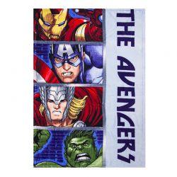 Παιδική Κουβέρτα Fleece Μονή 90 x 120 cm Χρώματος Μπλε Avengers Disney HQ4350