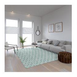 Χαλί 190 x 300 cm Χωρίς Πέλος Marakesh 2 Χρώματος Mint
