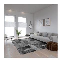 Χαλί 190 x 300 cm Χωρίς Πέλος Ethnic Grey Χρώματος Γκρι