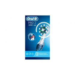 Επαναφορτιζόμενη Ηλεκτρική Οδοντόβουρτσα Oral-B Pro 2 2000 CrossAction
