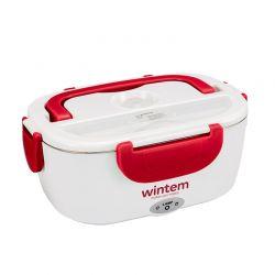 Ηλεκτρικό Θερμαινόμενο Φαγητοδοχείο Wintem Χρώματος Κόκκινο WK-2773