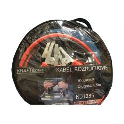 Καλώδια Φόρτισης Μπαταρίας Αυτοκινήτου 1000 A 4.5 m Kraft&Dele KD-1285