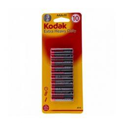 Σετ Μπαταρίες AAA 1.5 V 10 τμχ Kodak Extra Heavy Duty IPDP053a