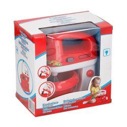 Παιχνίδι Μίξερ με Βάση και Φως 14 x 20 x 20 cm Χρώματος Κόκκινο Eddy Toys 85373