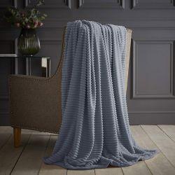 Ριχτάρι Jumbo Cord 150 x 200 cm Silentnight Χρώματος Denim