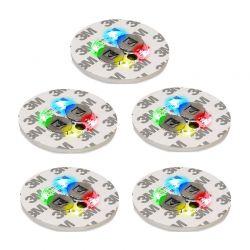 Αυτοκόλλητα LED για Εφέ Φωτισμού σε Μπουκάλια 5 τμχ SPM LED Bottle Light