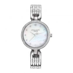 Γυναικείο Ρολόι Χρώματος Ασημί με Μεταλλικό Μπρασελέ Pierre Cardin Muette PC108172F04
