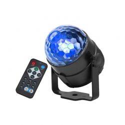 Ντισκομπάλα 360 ° με Φωτισμό LED και Τηλεχειριστήριο 7056