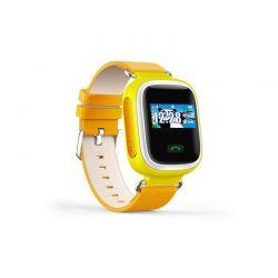 Παιδικό Ρολόι με GPS και Κάρτα SIM Χρώματος Κίτρινο Q80 SPM Q80SW-YELLOW