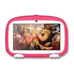 """Παιδικό Tablet με Οθόνη 7"""" και Θήκη Χρώματος Ροζ SPM M756-PINK"""