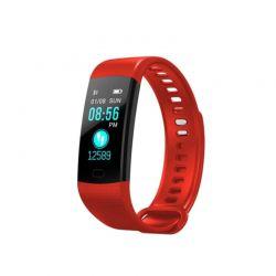 Ρολόι Fitness Tracker με Πιεσόμετρο - Οξύμετρο και Μετρητή Καρδιακών Παλμών Χρώματος Κόκκινο Slimy Y5 SPM Y5SW-RED
