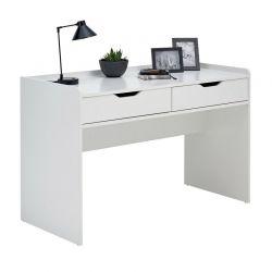 Ξύλινο Γραφείο με 2 Συρτάρια 82 x 128 x 58 cm SPM 508306F