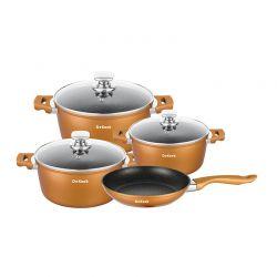 Σετ Μαγειρικών Σκευών Dekoch 7 τμχ Χρώματος Copper DK-S700 COP