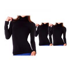 Σετ με 3 τμχ Γυναικείες Ισοθερμικές Μπλούζες Ζιβάγκο MWS15516