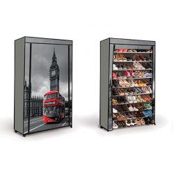 Stand Αποθήκευσης 50 Ζευγαριών Παπουτσιών London SPM 30010051