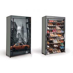 Stand Αποθήκευσης 50 Ζευγαριών Παπουτσιών New York SPM 30010052