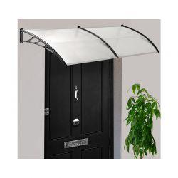 Διπλό Πλαστικό Κιόσκι - Τέντα Πόρτας Εισόδου 80 x 300 cm Χρώματος Λευκό 30060101