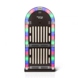 Ρετρό Jukebox με LED Φωτισμό και Bluetooth SPM 8715342025681