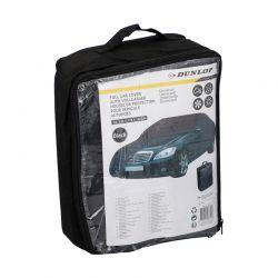 Ανθεκτική Κουκούλα - Κάλυμμα Αυτοκινήτου Γενικής Χρήσεως 534 x 178 x 120 cm Χρώματος Μαύρο Dunlop 07754