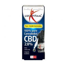 Έλαιο Κάνναβης CBD 2.8% 100% Φυσικό 10 ml Lucovitaal 8713713039619