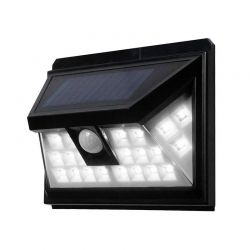 Ηλιακή Λάμπα Τοίχου με 24 LED 3.5 W και Ανιχνευτή Κίνησης 80050017