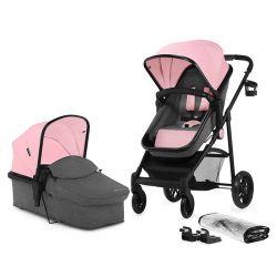 Παιδικό Καρότσι 2 σε 1 Χρώματος Ροζ KinderKraft JULI