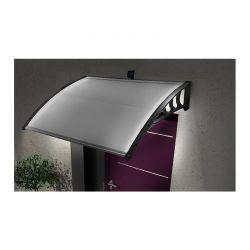 Πλαστικό Κιόσκι - Τέντα Πόρτας Εισόδου με Ηλιακό LED Φωτισμό 80 x 100 cm SPM 40070218