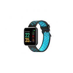 Ρολόι Fitness Tracker με Πιεσόμετρο και Μετρητή Καρδιακών Παλμών Χρώματος Μπλε S88 SPM S88SW-BLUE