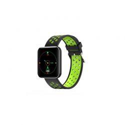 Ρολόι Fitness Tracker με Πιεσόμετρο και Μετρητή Καρδιακών Παλμών Χρώματος Πράσινο S88 SPM S88SW-GREEN