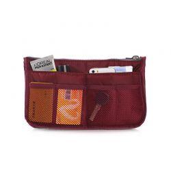 Organizer Τσάντας και Καλλυντικών Χρώματος Μπορντό SPM HandbagOrg-RED