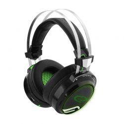 Ακουστικά 50 mm με Μικρόφωνο για Gamers 7.1 Surround Sound Vibration Esperanza Bloodhunter EGH9000