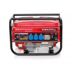 Φορητή Μονοφασική Ηλεκτρογεννήτρια Βενζίνης 2500 W Kraft&Dele ΚD-111