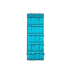 Κρεμαστή Θήκη με 20 Τσέπες για Παπούτσια Χρώματος Μπλε SPM VL3248